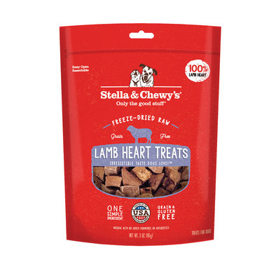 Freeze-Dried Raw Lamb Heart Treats - 85 g