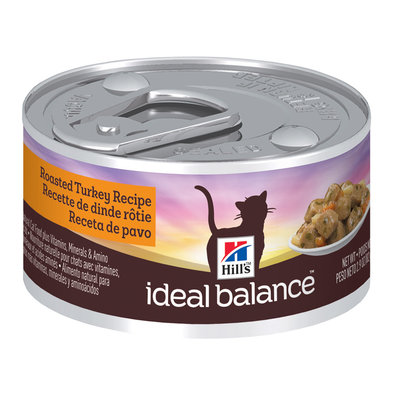 Feline Can Ideal Balance, Turkey - 2.9 oz
