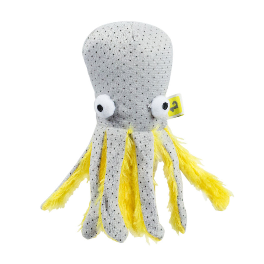 View larger image of Feline Plush Octopus Toy