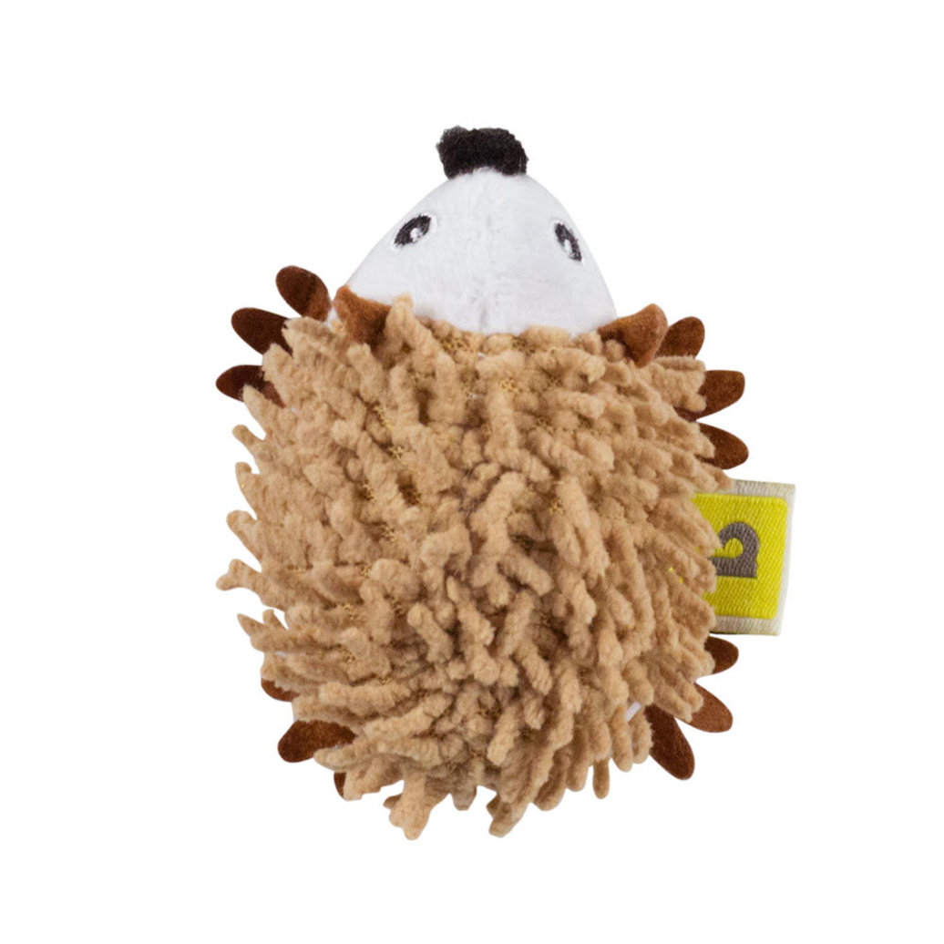 View larger image of Feline Plush Porcupine Toy