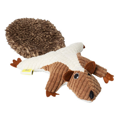 Feline Plush Squirrel Toy