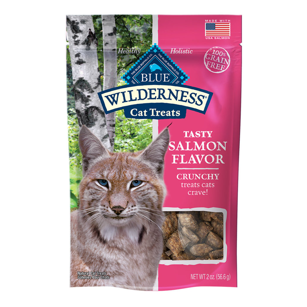 View larger image of Feline Treat - Wilderness - Crunchy Salmon - 56 g