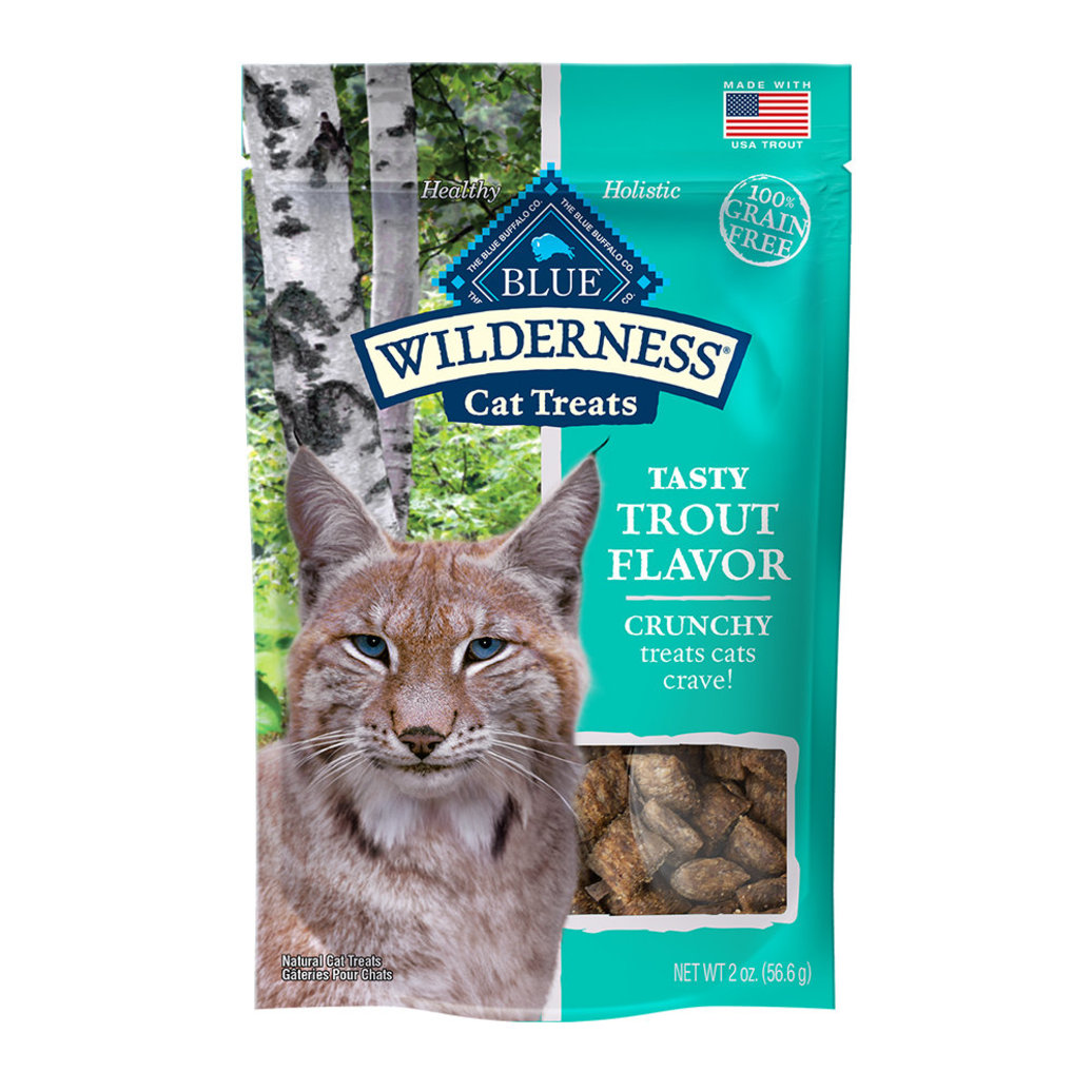 View larger image of Feline Treat - Wilderness - Crunchy Trout - 56 g