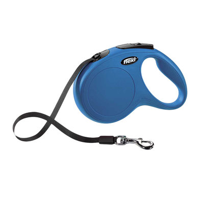 Classic Tape Leash - Blue - 5 m