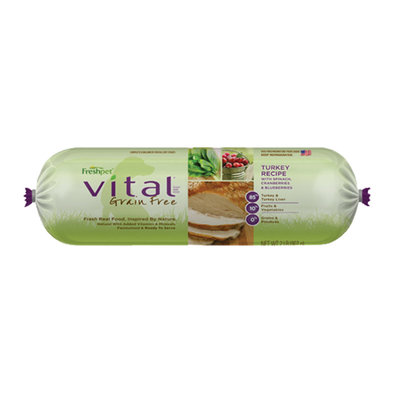 Vital Rolls, Turkey with Vegetables - 2 lb