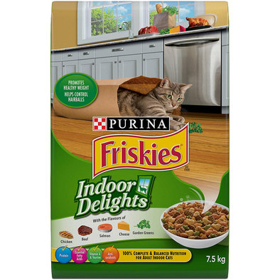 Indoor Cat Food, Indoor Delights - 7.5 kg