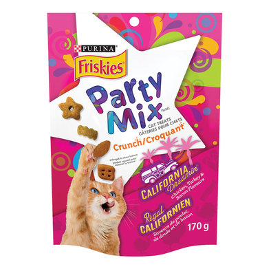 Party Mix Cat Treats, California Dreamin' Crunch 170 g
