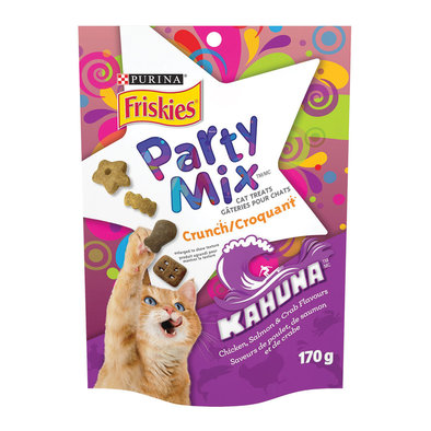Party Mix - Kahuna Chicken/Salmon/Crab - 170 g