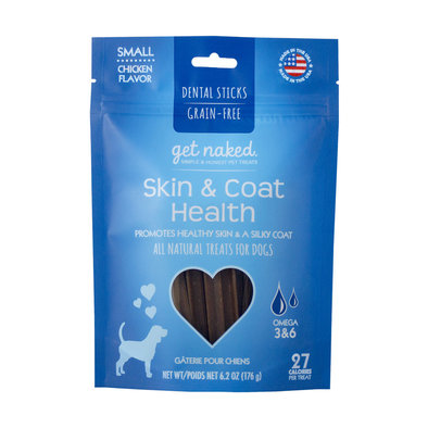 Dental Chew, Skin&Coat - Small - 6.2 oz