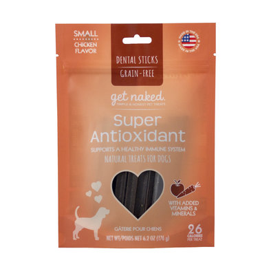 Dental Chew, Super Antioxidant - Small - 6.2 oz
