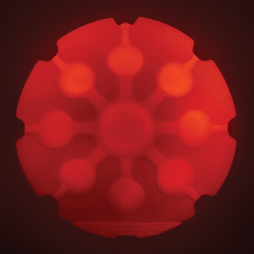 View larger image of Glowstreak Led Ball - Red