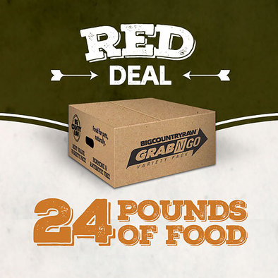 Grab N Go Red Deal - 24 lb