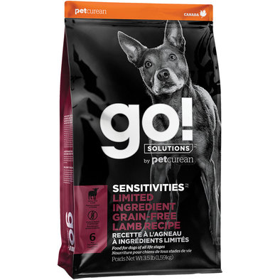SENSITIVITIES Limited Ingredient Grain Free Lamb Recipe for dogs