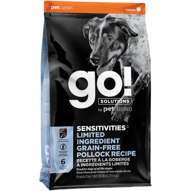 SENSITIVITIES Limited Ingredient Grain Free Pollock Recipe for dogs