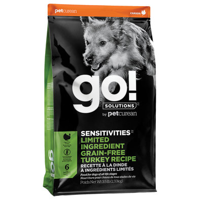 SENSITIVITIES Limited Ingredient Grain Free Turkey Recipe for dogs