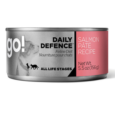 Daily Defense, Canned Cat Food, Salmon Pate - 5.5 oz