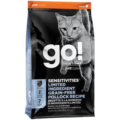 SENSITIVITIES Limited Ingredient Grain Free Pollock Recipe for cats