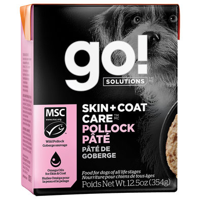 SKIN + COAT CARE Pollock Pâté for dogs