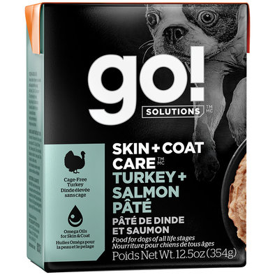SKIN + COAT CARE Turkey + Salmon Pâté for dogs