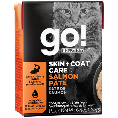SKIN + COAT CARE Salmon Pâté for cats