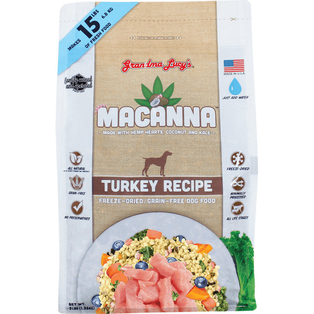 View larger image of Macanna Freeze Dried - Grain Free - Turkey - 1.36 kg