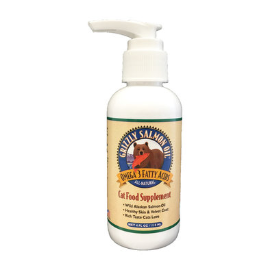 Salmon Cat Oil - 4 oz