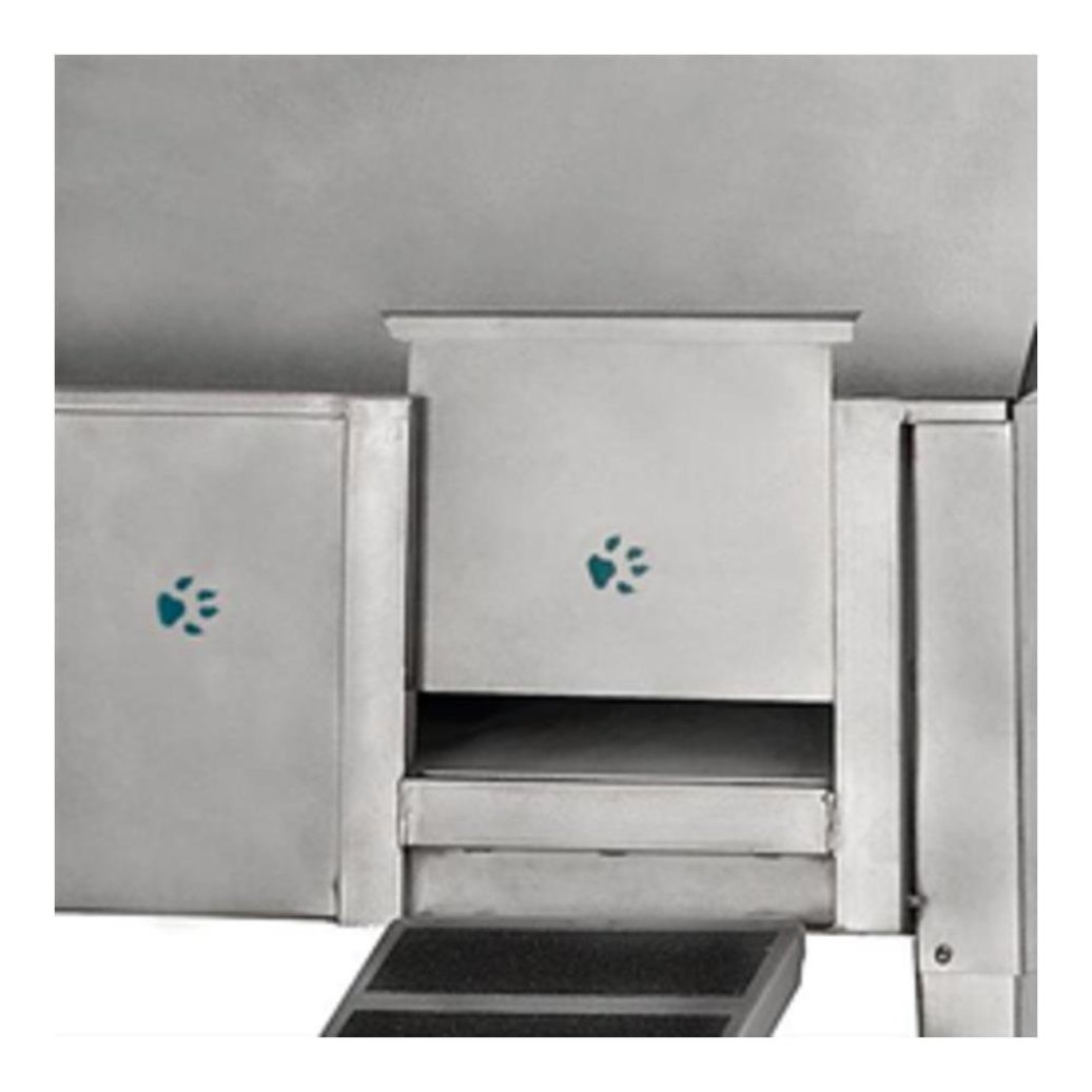 View larger image of Door For Walk-Through Tub & Mounting Kit - 13x10""