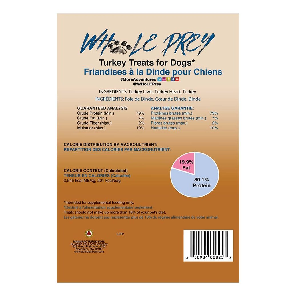 View larger image of Whole Prey - Turkey - 60 g