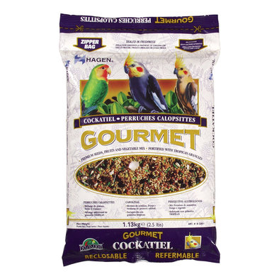 Gourmet Seed Mix for Cockatiels&Small Hookbills - 1.36 kg