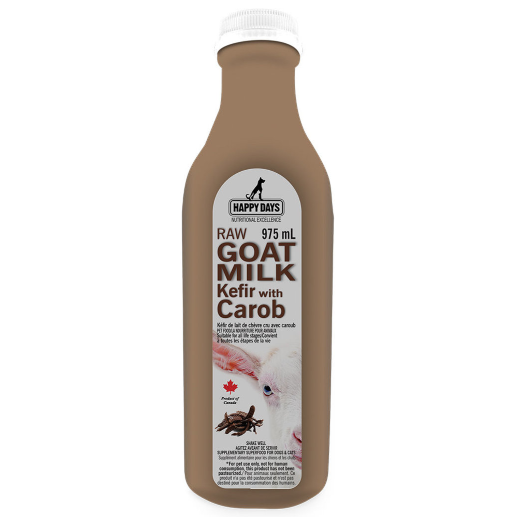View larger image of Happy Days Dairy , Raw Goats Milk Kefir with Carob - 1 L
