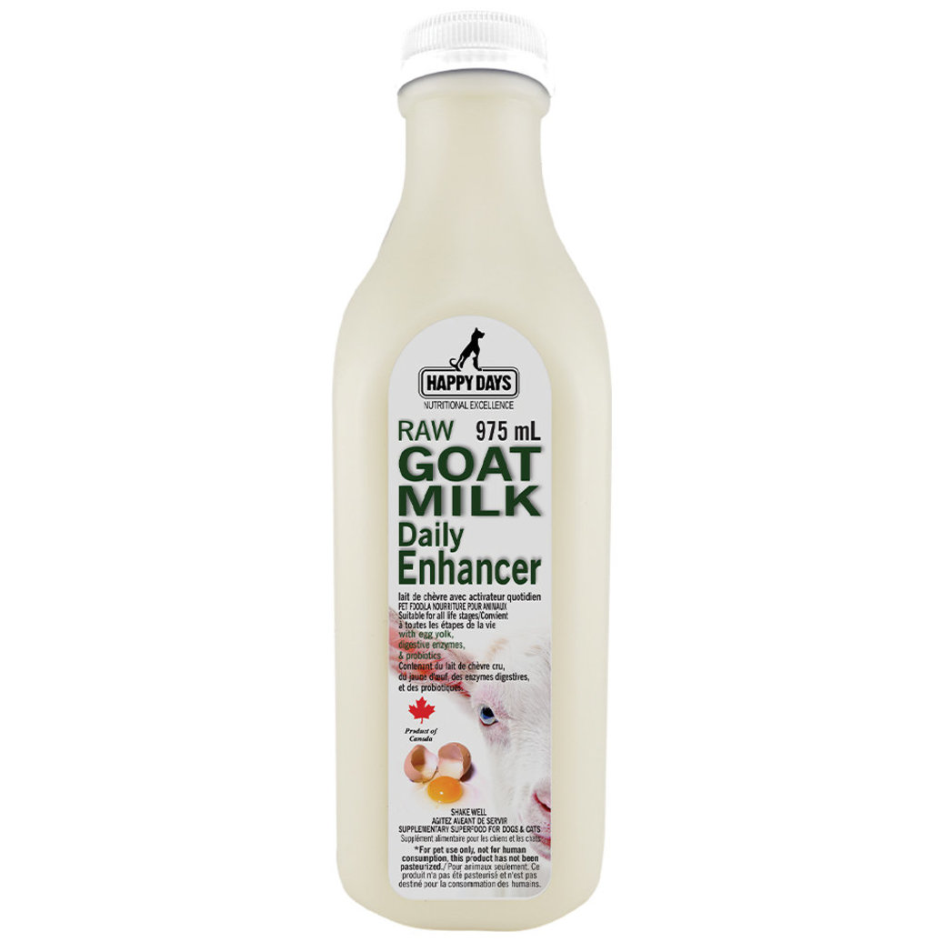 View larger image of Happy Days Dairy , Raw  Goats Milk Kefir with Daily Egg Enhancer - 1 L