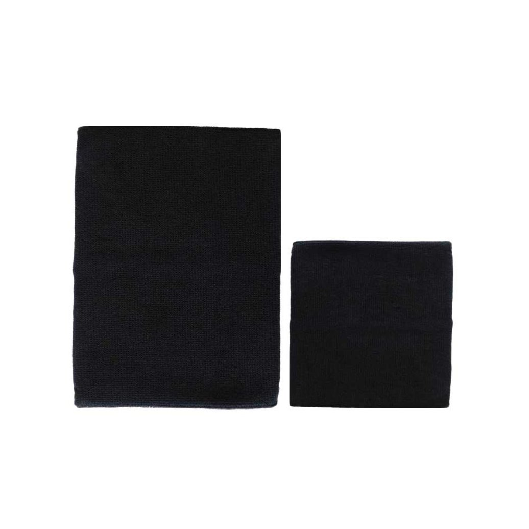 View larger image of Ear Protector - Black - 2 pk - Small & Large