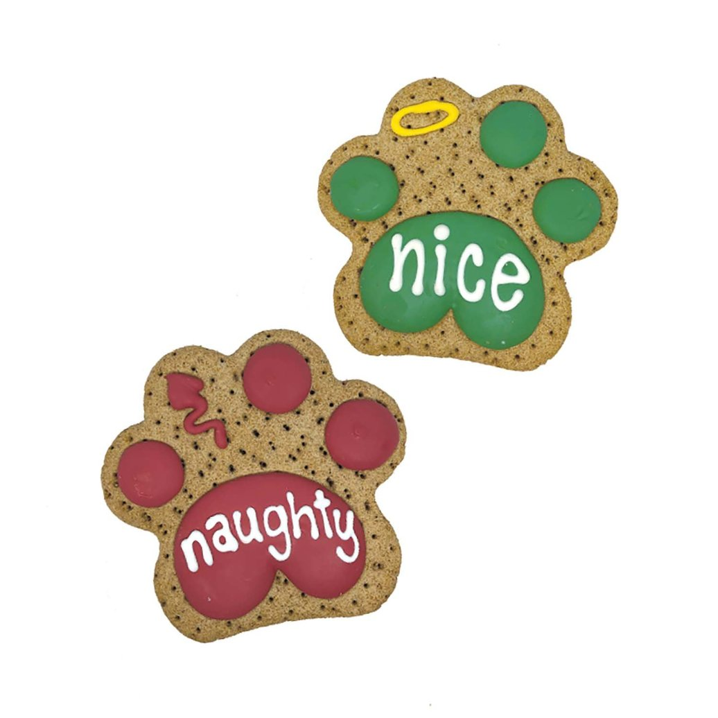 """View larger image of Happy Howlidays! Naughty & Nice Paws - 4"""""""