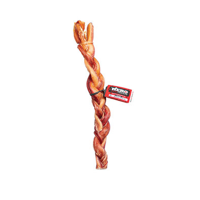 Braided Bully Stick - 12""