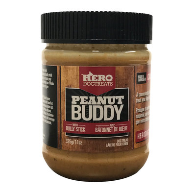 Peanut Buddy with Bully Stick - 325 g