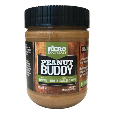 Peanut Buddy with Hemp Oil - 325 g