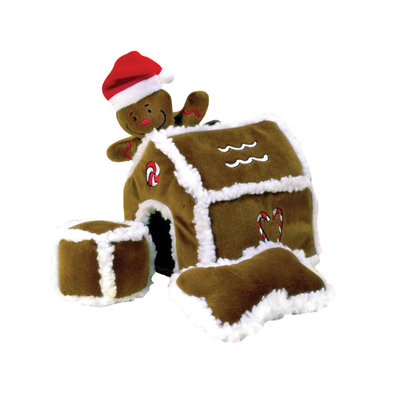 Hide-A-Toy Gingerbread House