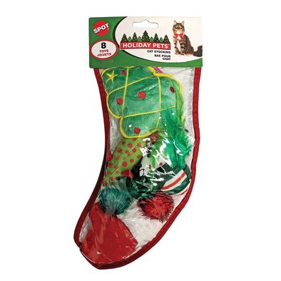 Holiday Cat Stocking - Medium