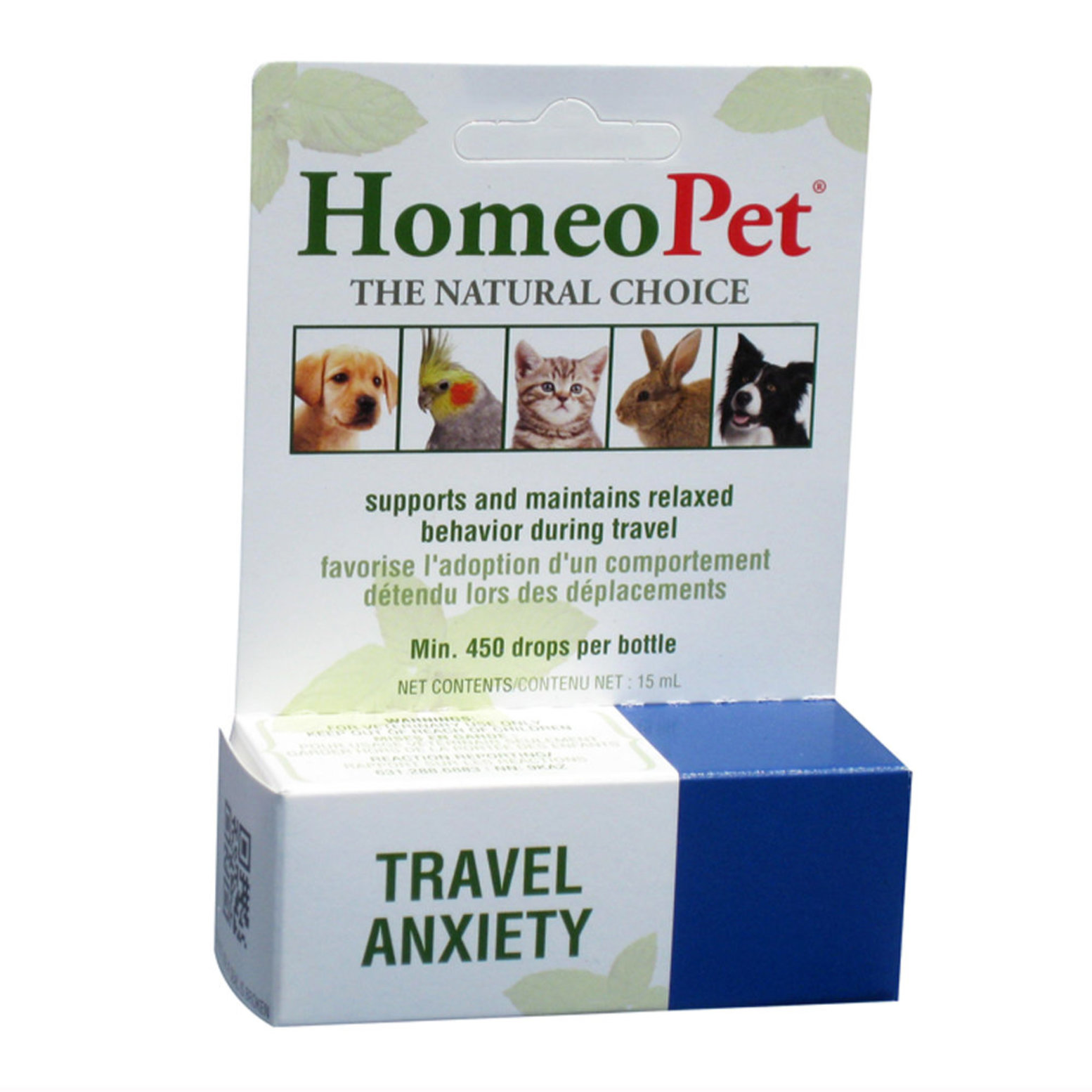 HomeoPet,Travel Anxiety Relief - 15 mL - Ren's Pets