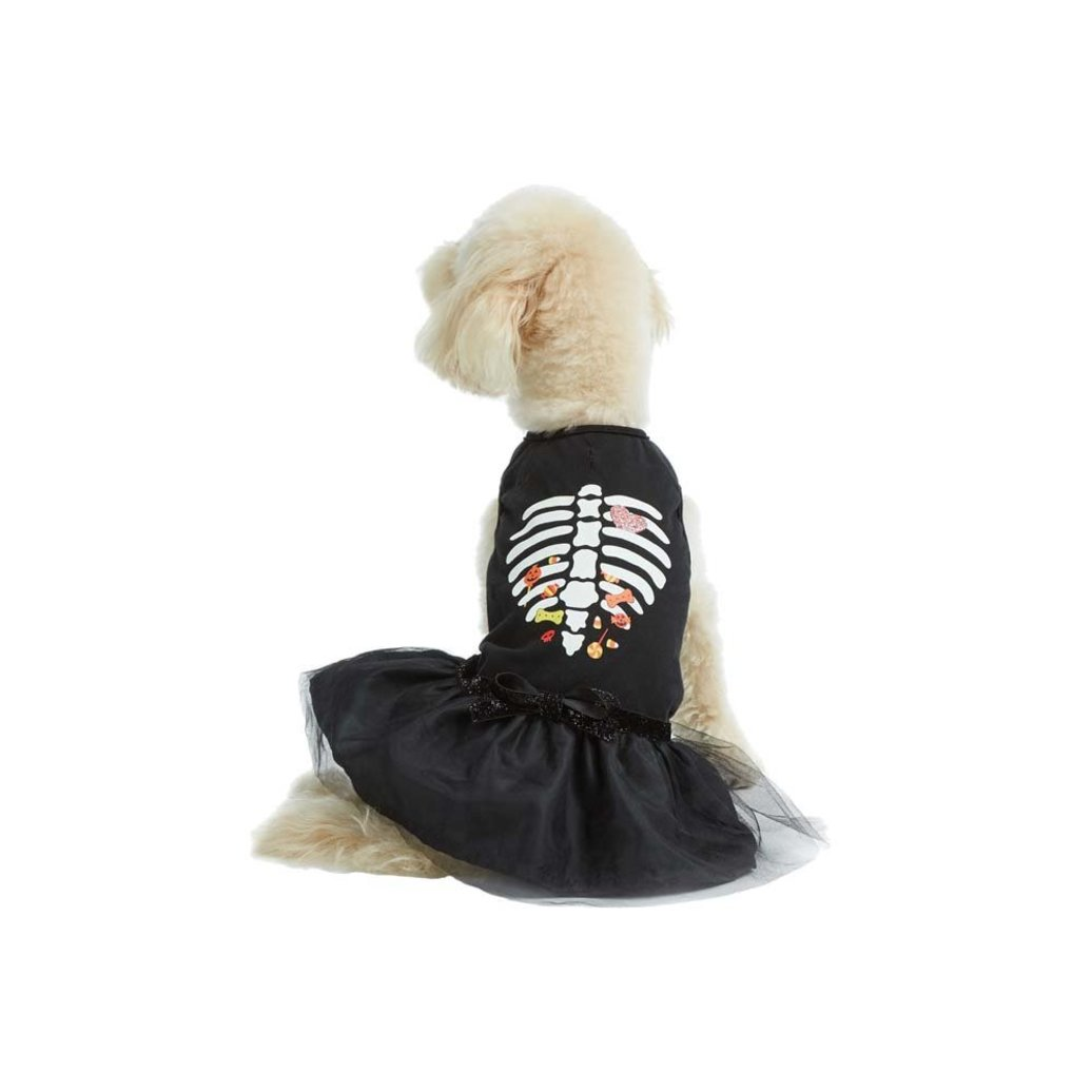 View larger image of Dress - Skeleton and Candy - Black