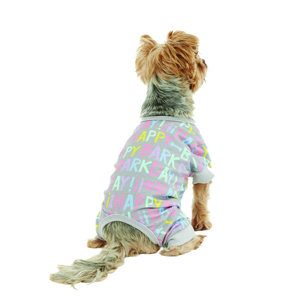 View larger image of Onesie - Happy Barkday - Alloy