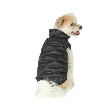 Packable Quilted Coat - Black