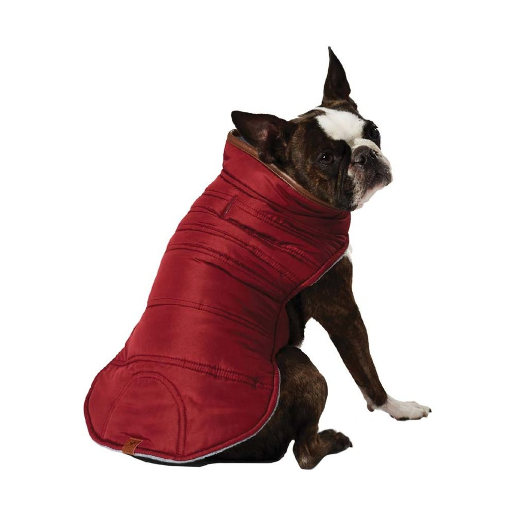 View larger image of Reversible Puffer Vest - Merlot