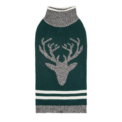 Roll Neck Moose - Green