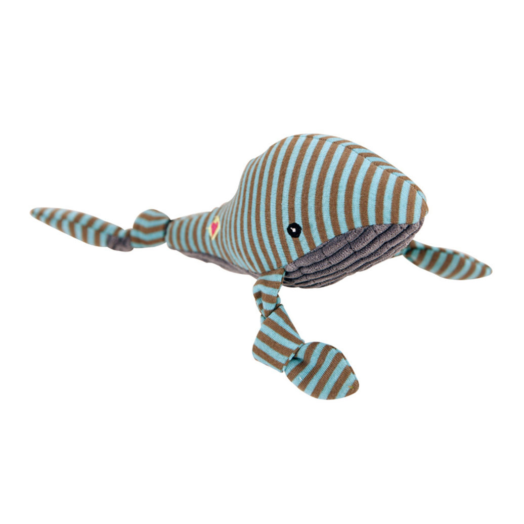 View larger image of Corduroy Sock Knottie Whale - Blue/Gray - Large