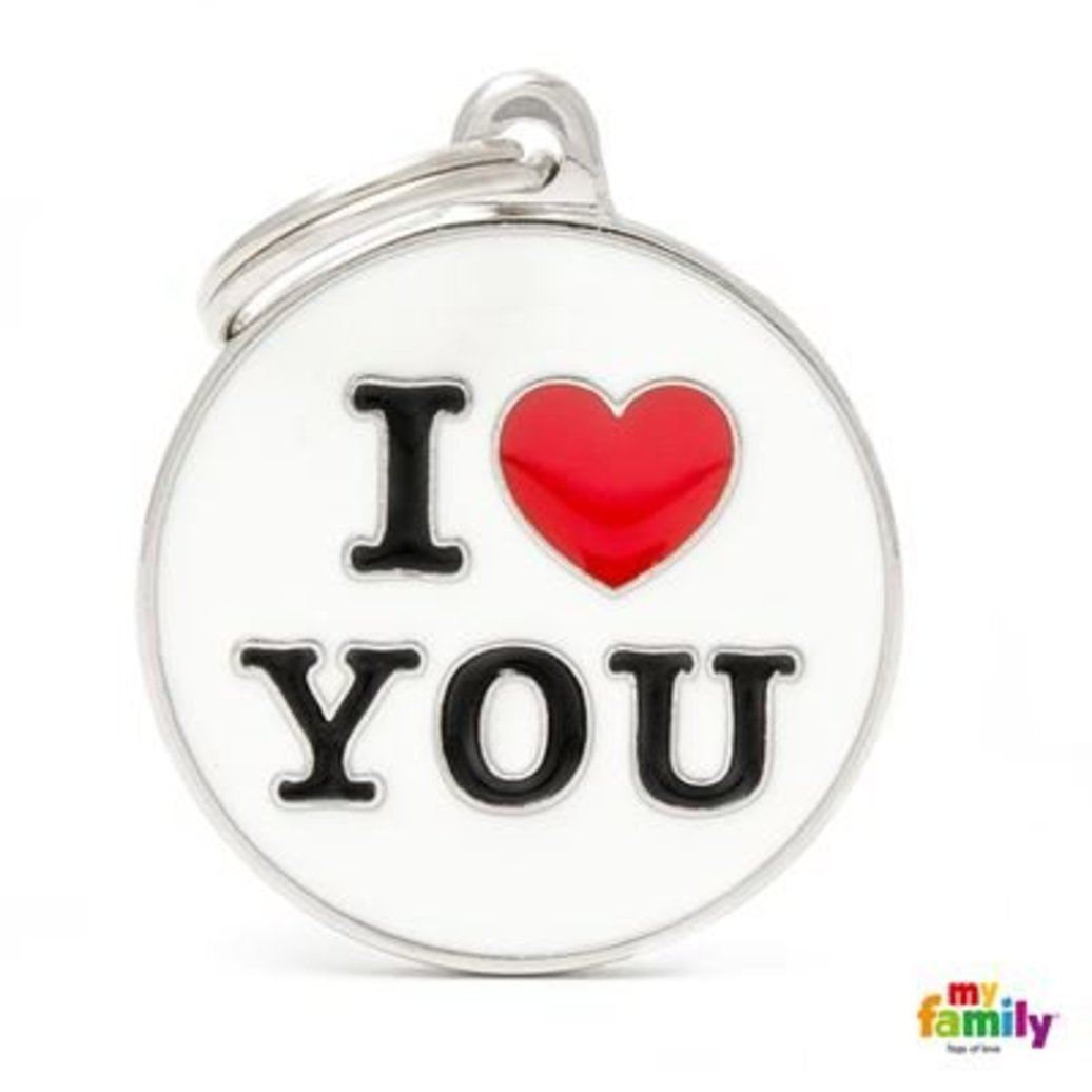 View larger image of I Love You Tag