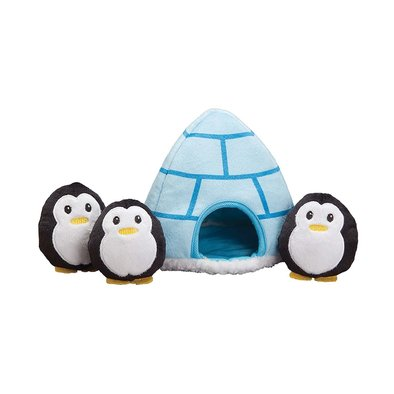 Igloo and Penguins - 6""