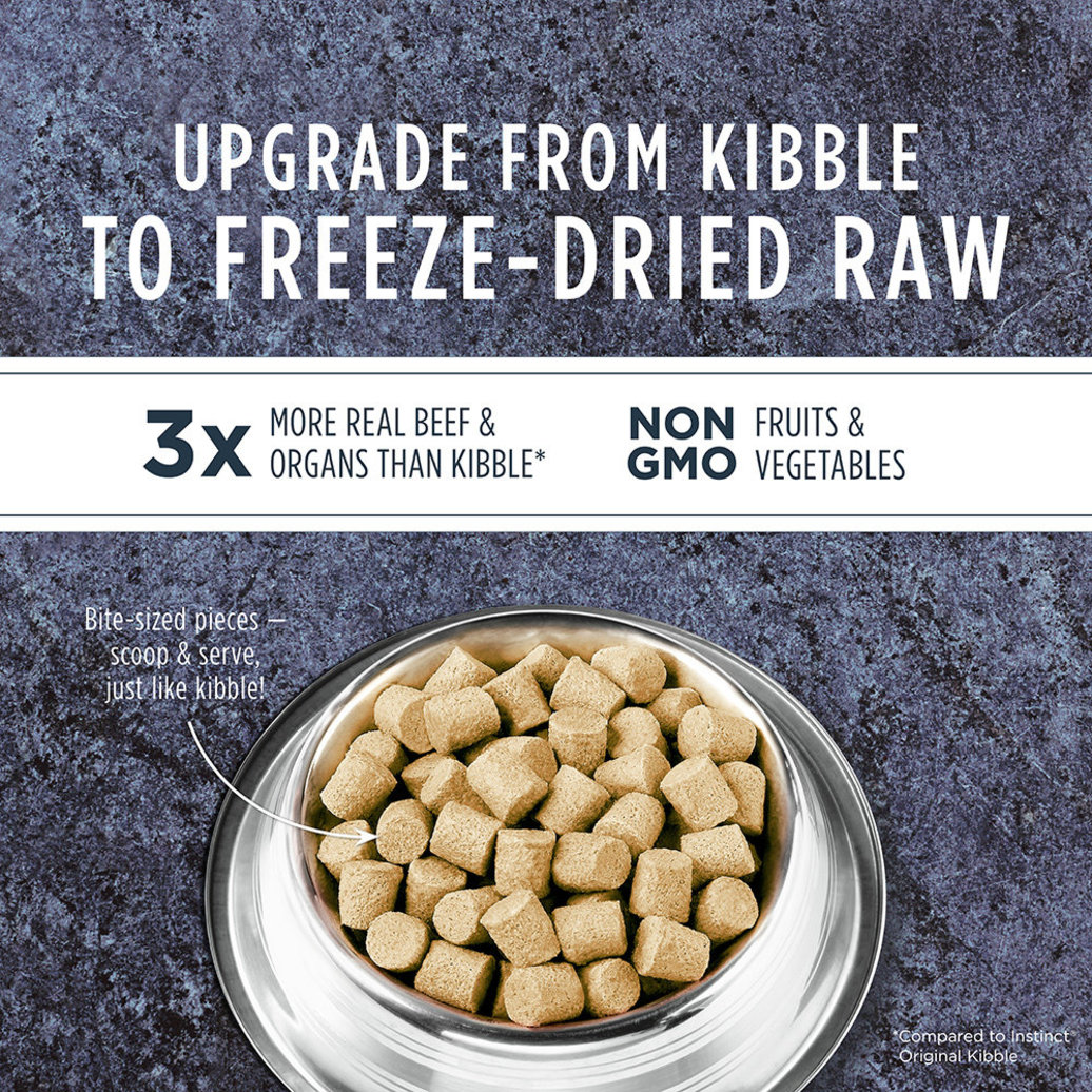 View larger image of Adult Freeze Dried Grain Free Real Beef