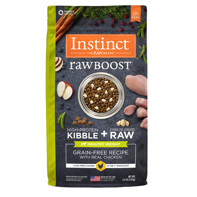 Raw Boost Healthy Weight Grain Free Chicken Dry Dog Food, 1.8 kg