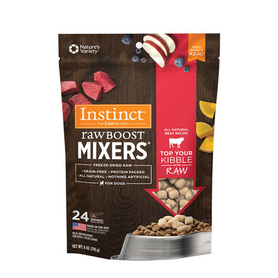 Adult  Raw Boost Mixers  Natural Beef  170 g